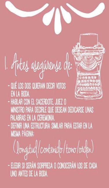 Los votos matrimoniales. - Foro Ceremonia Nupcial - bodas.com.mx