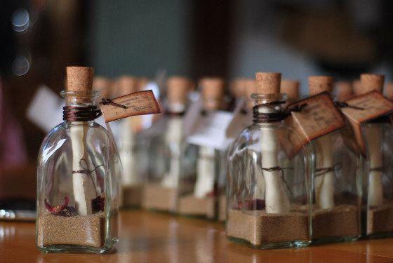Invitaciones En Botella Para Boda En Playa Foro Manualidades - Invitaciones-de-boda-en-botella