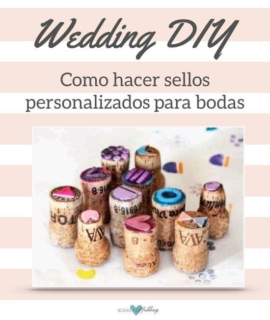 C mo hacer sellos personalizados para bodas foro for Como hacer sellos
