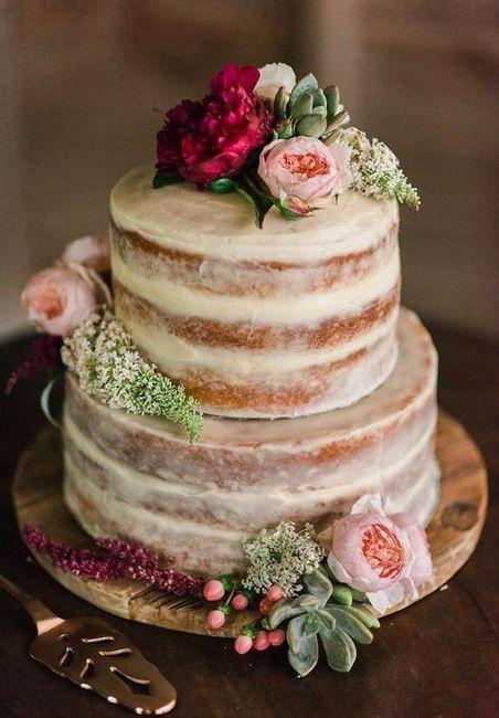 Ideas de pastel estilo naked 48