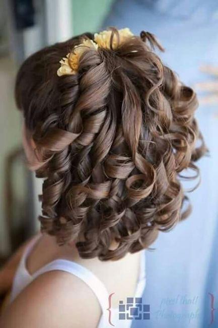 Peinado Nia Interesting Stunning Peinado De Nia Facil With Peinado - Peinados-de-nia
