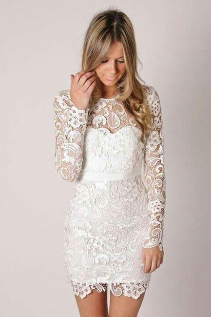Vestidos de otoрів±o para bodas