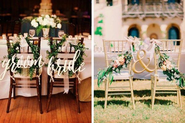 8 ideas modernas para decorar la mesa de novios foro for Sillas para novios en la iglesia
