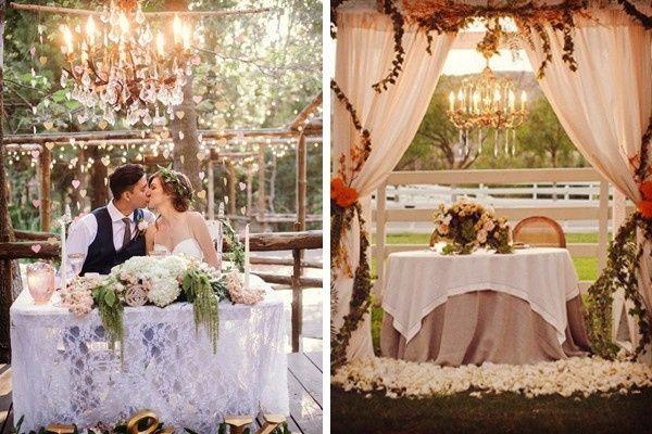 8 ideas modernas para decorar la mesa de novios foro organizar una boda - Mesas decoradas para bodas ...