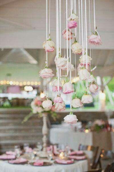 Decoraci n con arreglos colgados foro manualidades para bodas - Foro decoracion ...