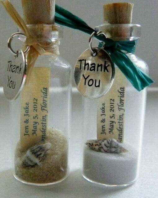 Recuerditos para tu boda en la playa foro manualidades - Manualidades para una boda ...