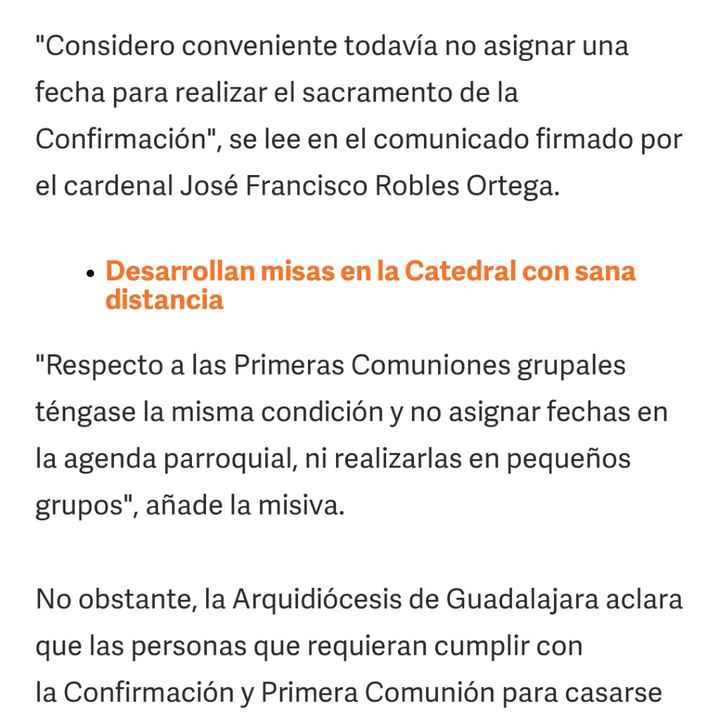 Confirmación rápida en Guadalajara - 1