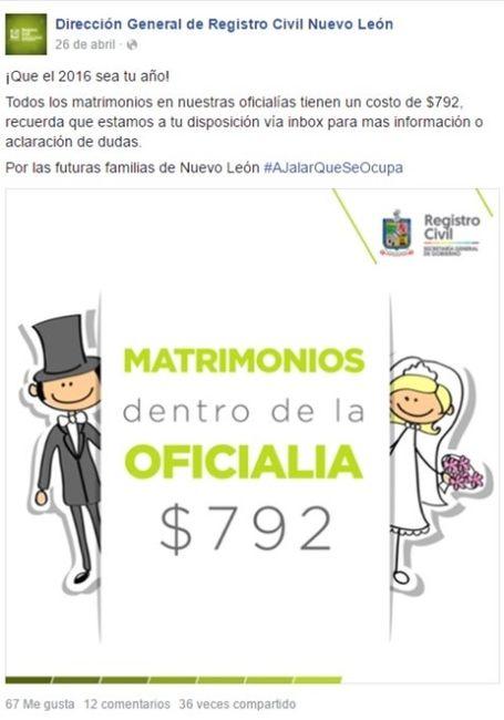 Requisitos boda civil nuevo leon foro nuevo le n - Tramites para casarse por lo civil ...
