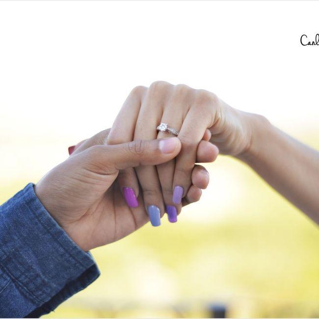 ¿Verdad que el anillo de compromiso si es lo mejor del mundo? 15
