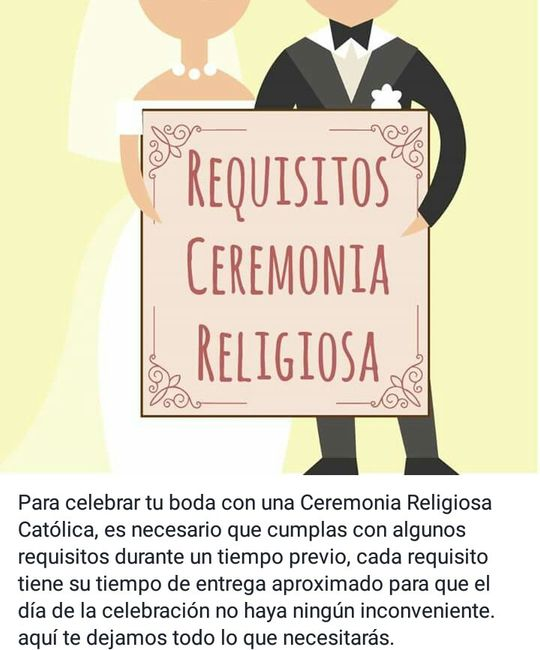 Matrimonio Iglesia Catolica Requisitos : Requisitos para la boda por iglesia foro ceremonia