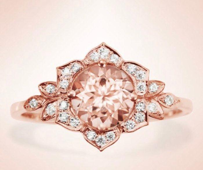 e69236e1d307 Anillo de compromiso rosa - Foro Moda Nupcial - bodas.com.mx