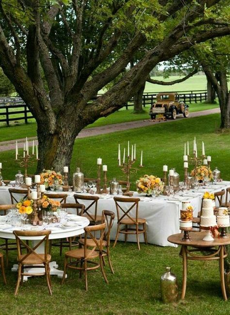 Inspiraci n bodas en jard n foro organizar una boda for Bodas sencillas en jardin