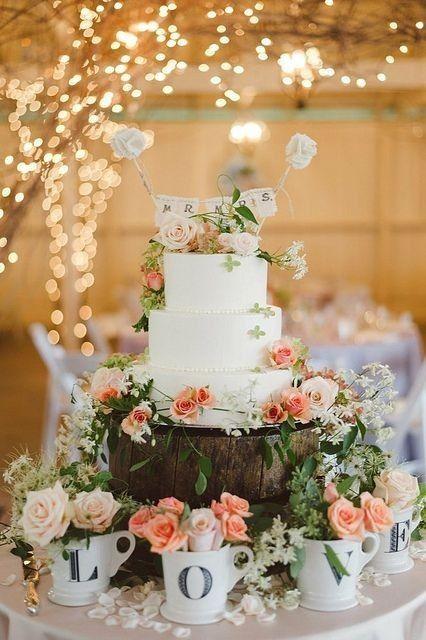 decoracion mesa para el pastel - foro banquetes - bodas.mx