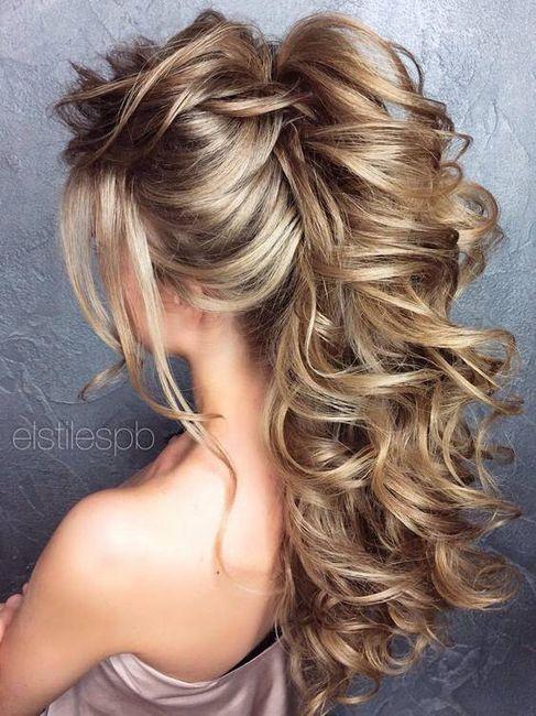 Peinados novia playa