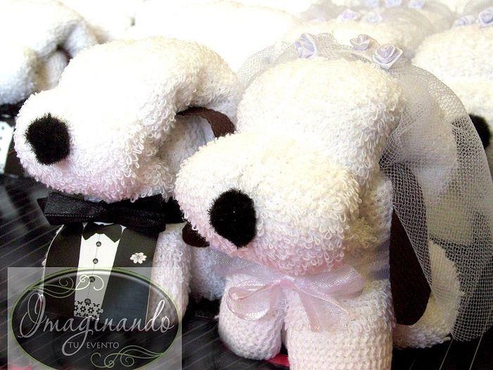Perritos de toalla foro manualidades para bodas bodas for Adornos con toallas