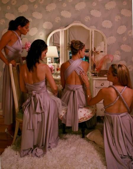 Vestido Mil Formas Para Damas Foro Moda Nupcial Bodas