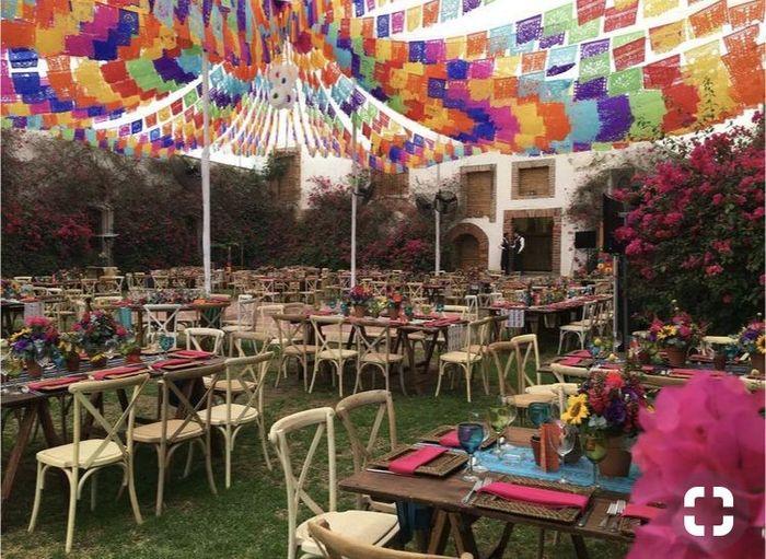 Decoraci n al estilo mexicano foro organizar una boda for Decoracion estilo mexicano moderno