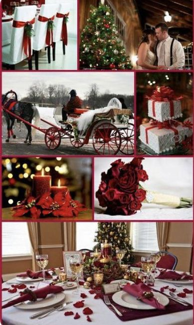 Espíritu navideño en tu boda 1