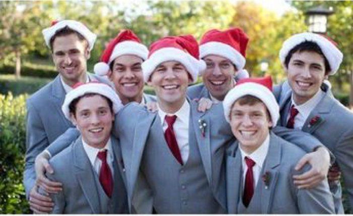 Espíritu navideño en tu boda 3