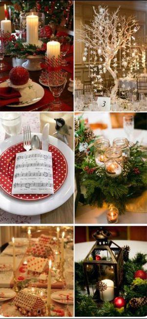 Espíritu navideño en tu boda 6