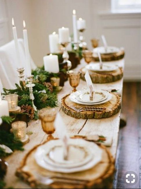 Espíritu navideño en tu boda 8
