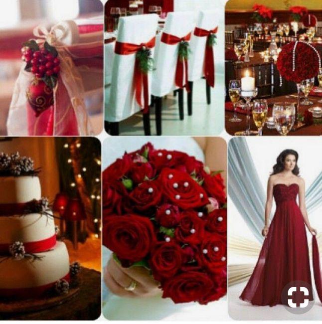 Espíritu navideño en tu boda 10