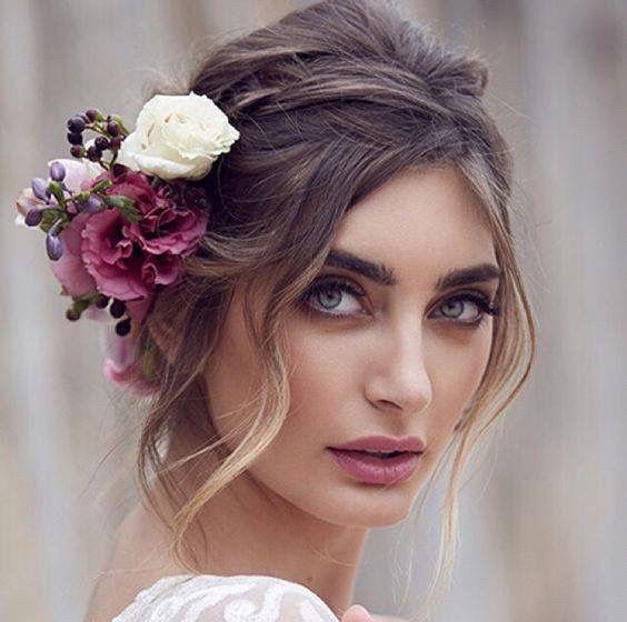 🌟🌟Tocados con flores 3