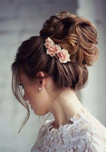 🌟🌟Tocados con flores 7