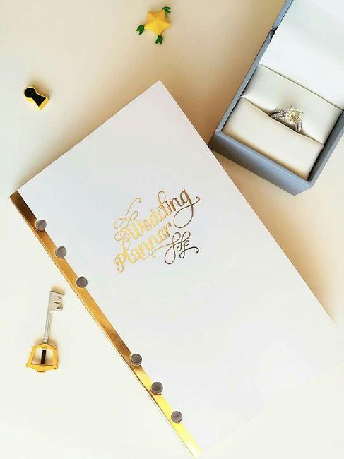 Carpeta de bodas para organizar 10