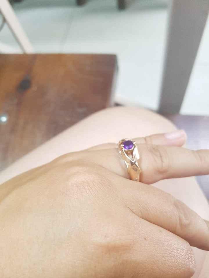 Si hubieras podido elegir el anillo de compromiso.. - 2