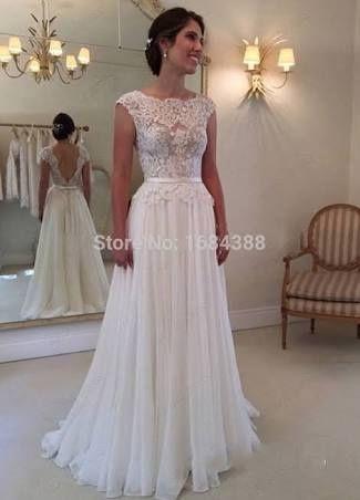 Fotos de vestidos de boda por lo civil