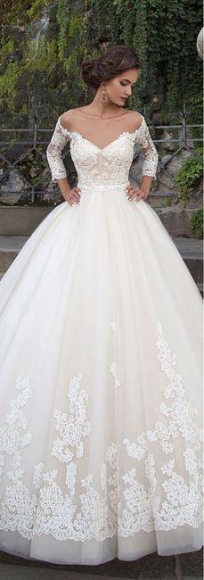 Vestidos de novia 2019 corte princesa