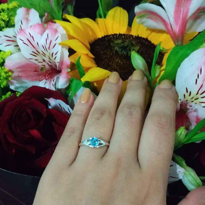 Mi anillo de compromiso, Ingrid - 1