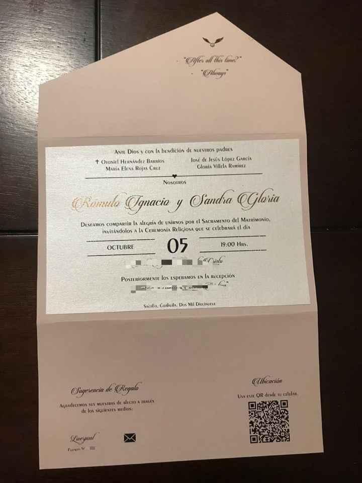 Invitación - 2