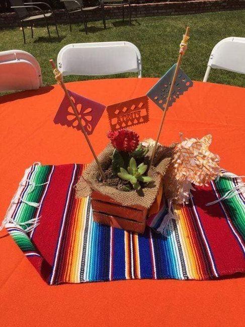 Centros de mesa muy mexicanos! 7