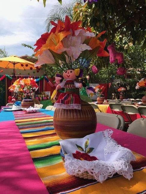 Centros de mesa muy mexicanos! 8