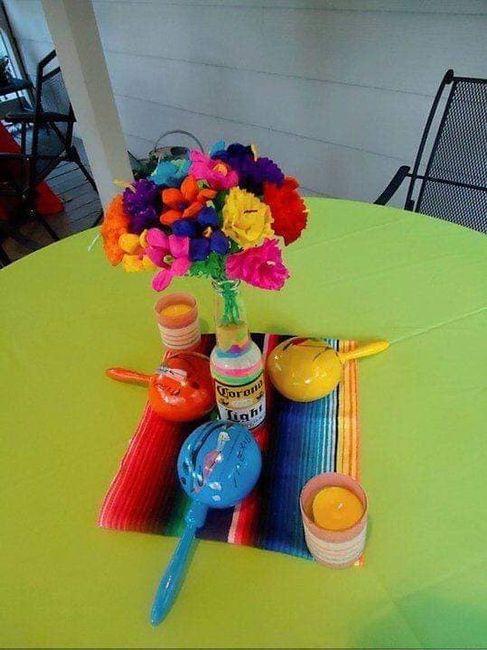 Centros de mesa muy mexicanos! 12
