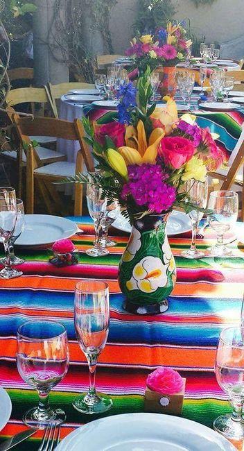 Centros de mesa muy mexicanos! 17