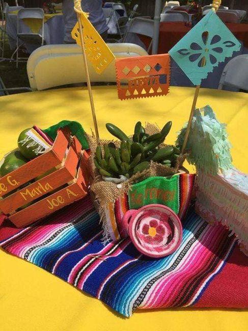 Centros de mesa muy mexicanos! 18