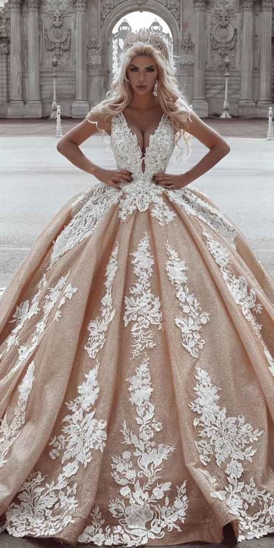 Vestidos color champagne❤️ - 8