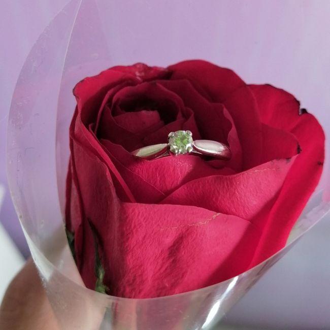¿Verdad que el anillo de compromiso si es lo mejor del mundo? 12