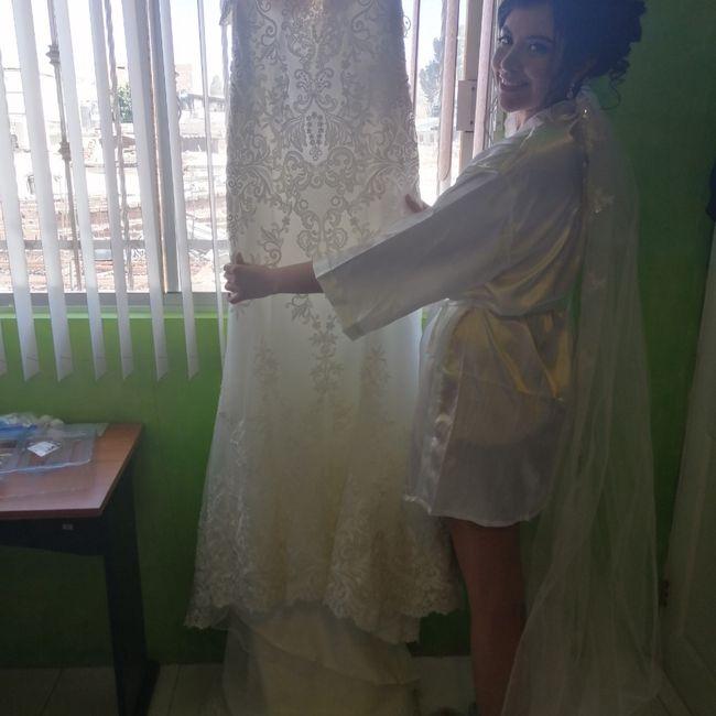 4 fotos de tu vestido de novia que no pueden faltar en el álbum 5