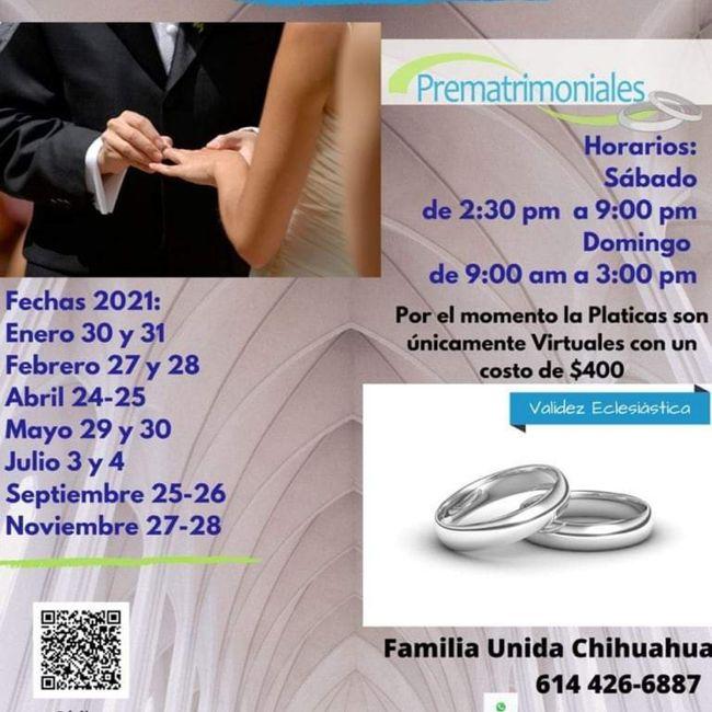 Pláticas prematrimoniales online - 1