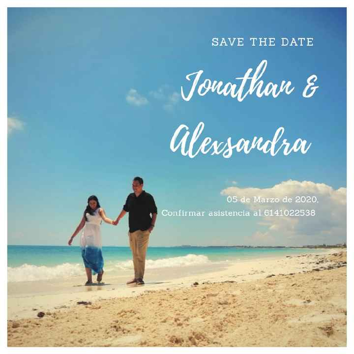 Nuestro Save the date 🏝️ - 2