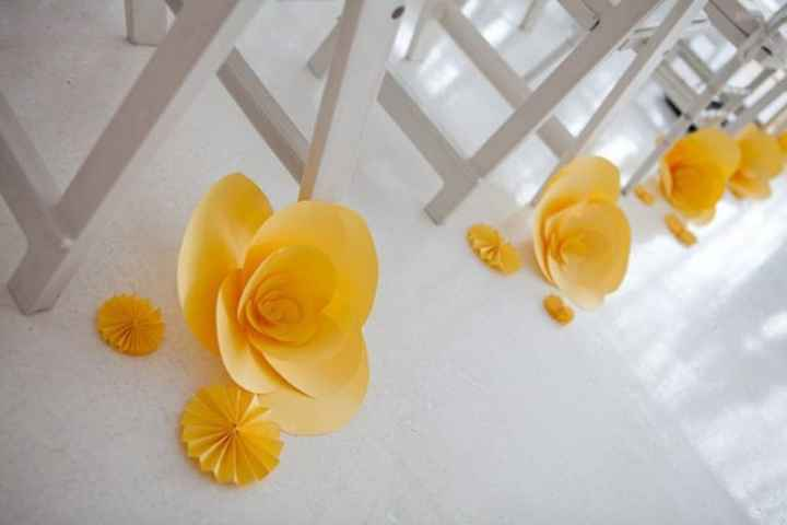 Manualidades de boda en amarillo 🌈 - 2