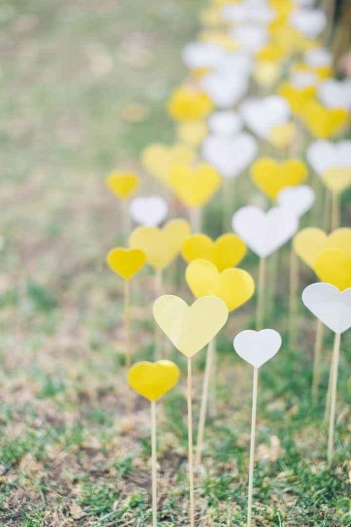 Manualidades de boda en amarillo 🌈 - 3