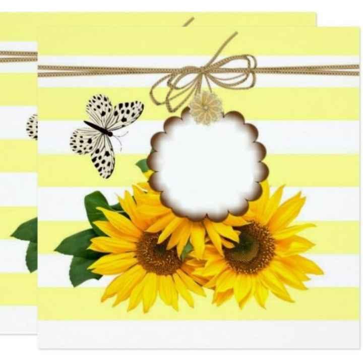 Manualidades de boda en amarillo 🌈 - 4