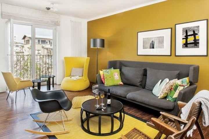 Decoración de interiores en amarillo 🌈 - 1