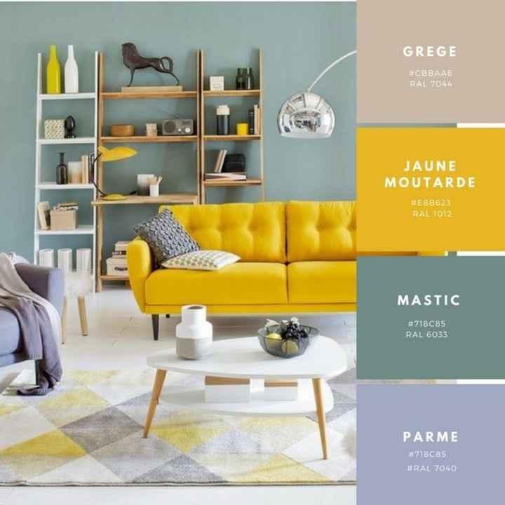 Decoración de interiores en amarillo 🌈 - 2