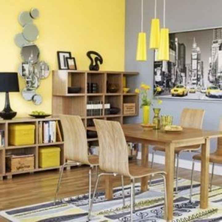 Decoración de interiores en amarillo 🌈 - 5